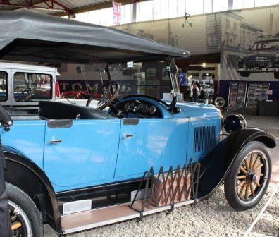 Ретро автомобиль Виллис-Найт 1923 год