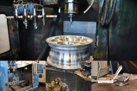 Изготовление кованых дисков