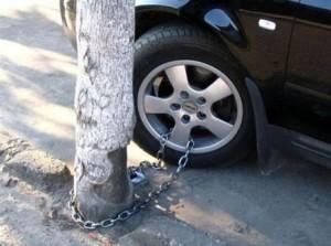 Противоугонная система для автомобиля