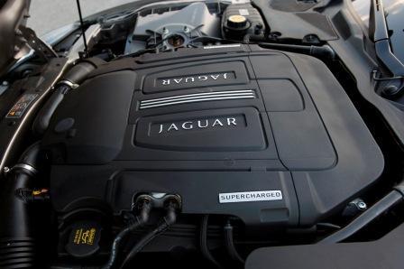 Двигатель Jaguar XKR 2011