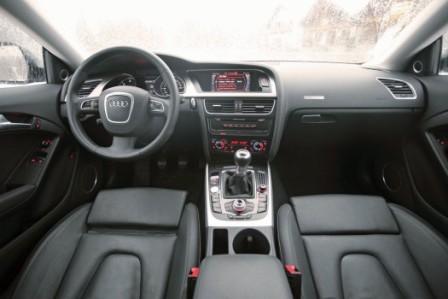 Салон Audi 5 Sportback