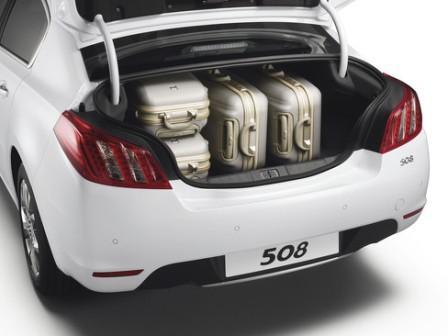 Багажник Peugeot 508