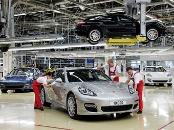 Контрольный осмотр Porsche Cayenne
