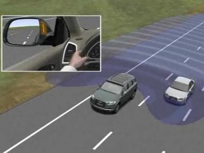Оценка обстановки (мертвая зона автомобиля)
