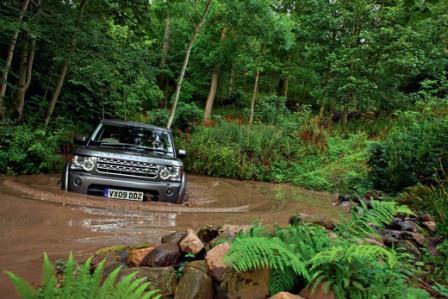 Преодаление брода Land Rover Discovery 4