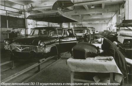 Сборка автомобиля ГАЗ-13 Чайка