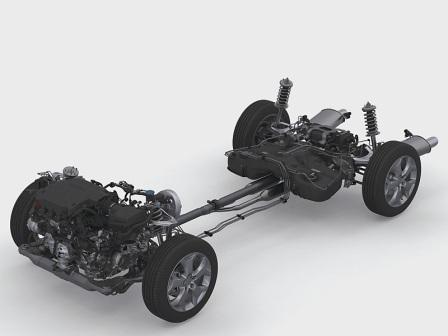 Ходовая часть Хонда Кростур