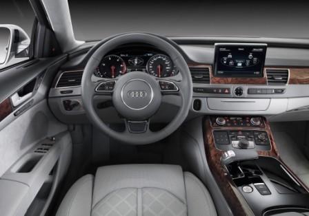 Салон Audi A8 4,2 TDI Quattro