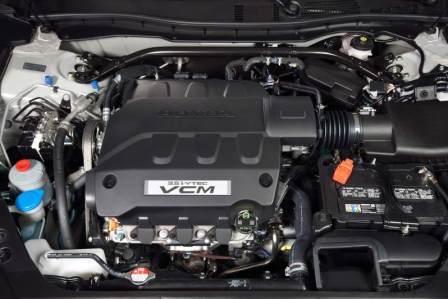 Honda Accord Crosstour 3.5-liter i-VTEC V-6 двигатель