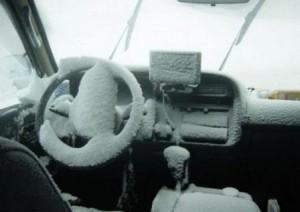 Холодный автомобиль