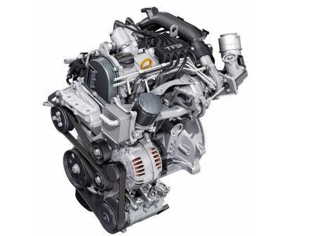 Двигатель 1,2 L. Audi A1