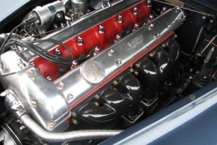 Двигатель Jaguar XK 140 SE