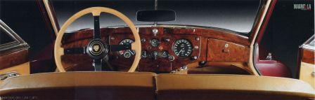 Приборная панель Jaguar XK 140 SE