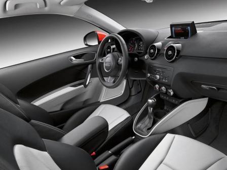 Салон Audi A1 купе