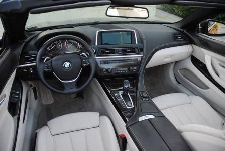 Салон BMW 650i cabriolet