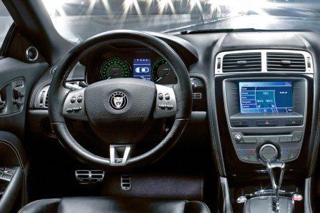 Салон Jaguar XK кабриолет