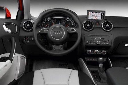Салон Ауди А1 купе