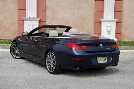 BMW 650i кабриолет