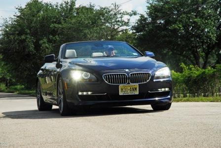 BMW 650i cabriolet 2012