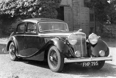 SS Jaguar 1937