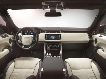 Салон Range Rover Sport 2012 года