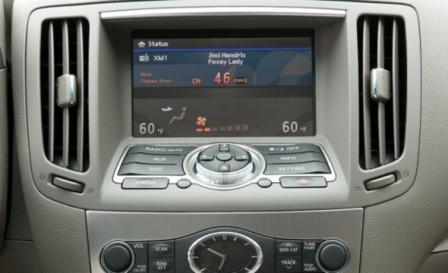 Тач-скрин экран Infiniti G25