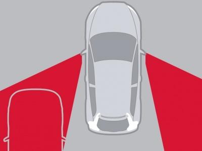 Мониторинг слепых зон Volvo C70