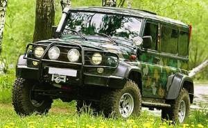 Тюнинг УАЗ 3159 Барс