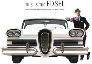 Американские ретро автомобили Ford Edsel