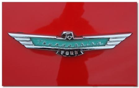 Эмблема Ford Форд Тандерберд
