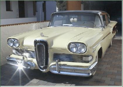 Роскошный Ford Edsel 1958