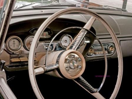 Салон Ford Edsel 1958