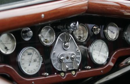 Панель приборов Hispano-Suiza H6B