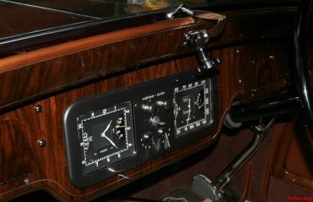 Hispano-Suiza-K6 Панель приборов