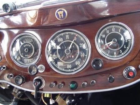 Панель приборов автомобиля Horch 951A