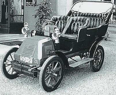 Первая модель Hispano-Suiza