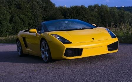 Кабриолет Lamborghini Gallardo