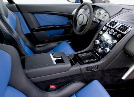 Салон Aston Martin V8 Vantage S