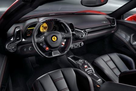 Салон Ferrari 458 Spider