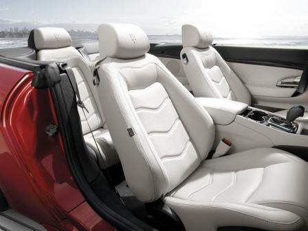 Сидения Maserati GranCabrio Sport