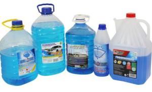 Как выбрать незамерзающую жидкость