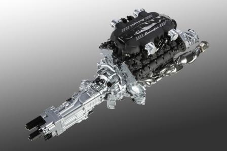 Двигатель с коробкой Lamborghini Aventador LP 700-4