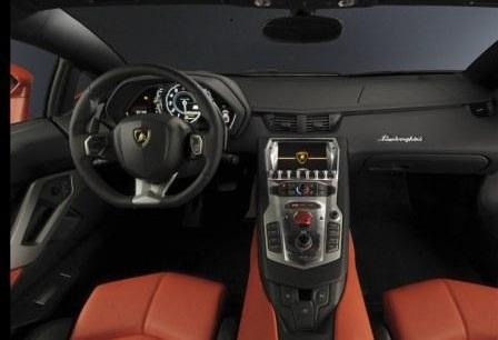 Салон Lamborghini Aventador LP 700-4
