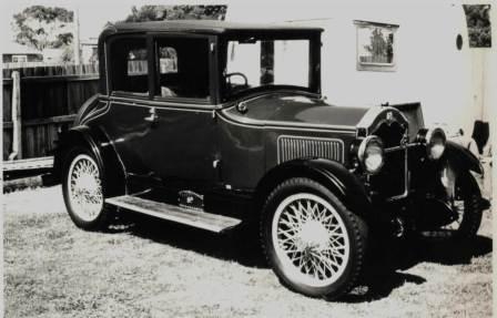 Ретро втомобиль Бьюик 1924