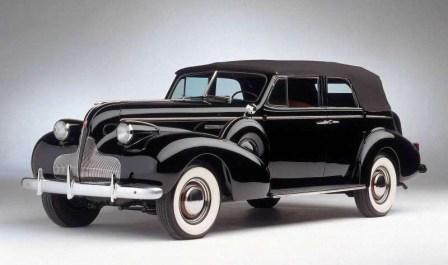 Ретро автомобиль Бьюик 1939