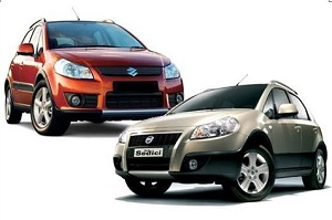 Обзор Suzuki SX4 и Fiat Sedici