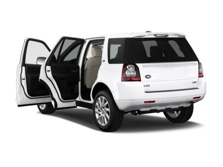 Land Rover Freelander 2 вид сзади
