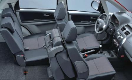 Салон Suzuki SX4