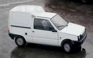 Автомобиль Ока фургон