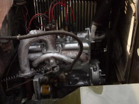 Двигатель ГАЗ-АА Полуторка